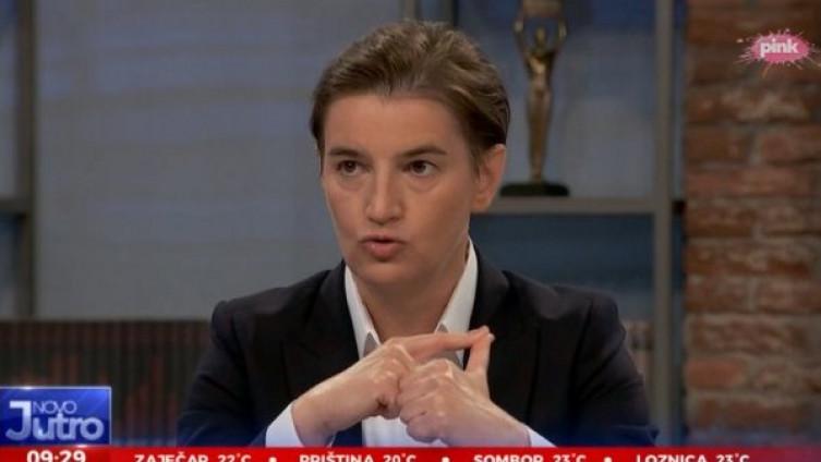 Brnabić: To je kandidat iz naše stranke, iza koga bih ja stala u svakom trenutku
