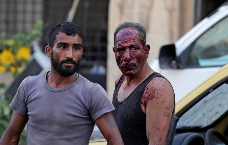 Potresne scene sa ulica Bejruta