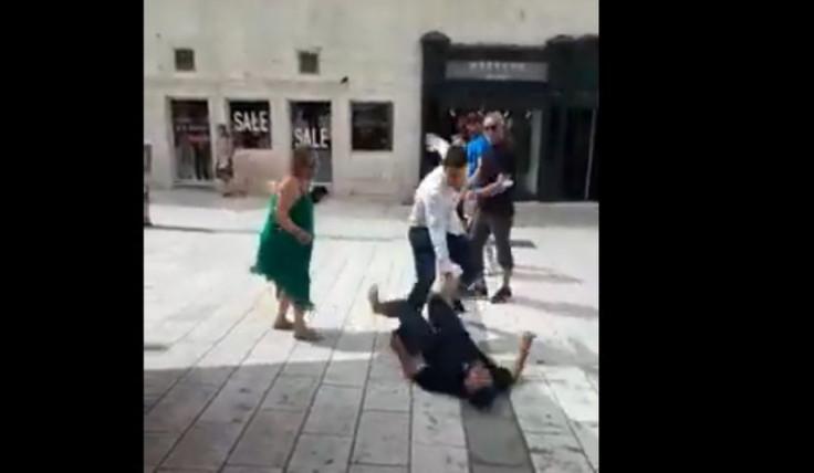Tuča u Splitu