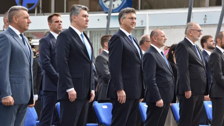 Hrvatski državni vrh u Kninu