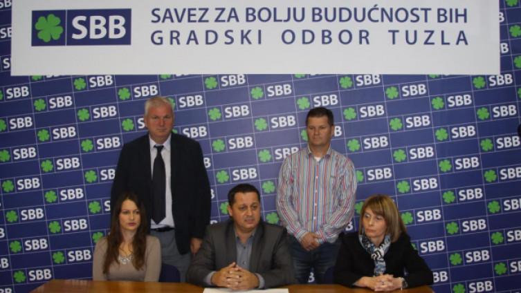 Oglasili se iz Gradskog odbora Saveza za bolju budućnost Tuzla