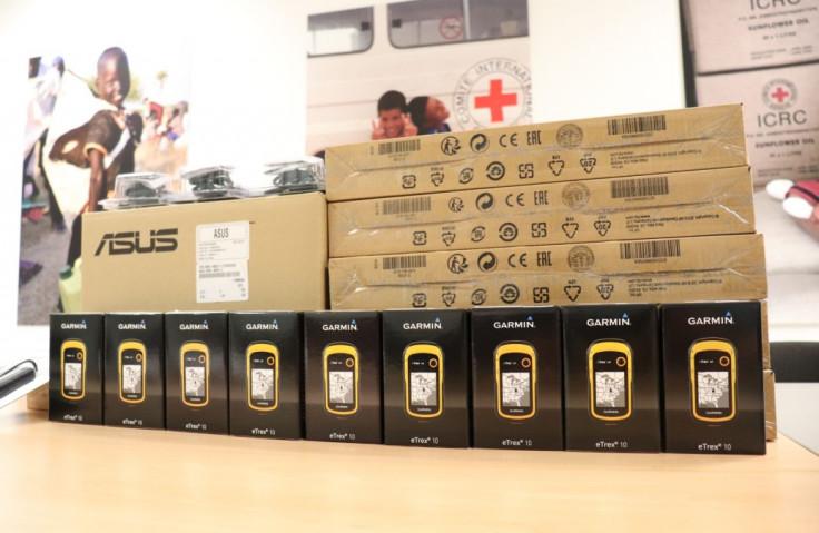 Donirano šest laptopa i 27 GPS uređaja