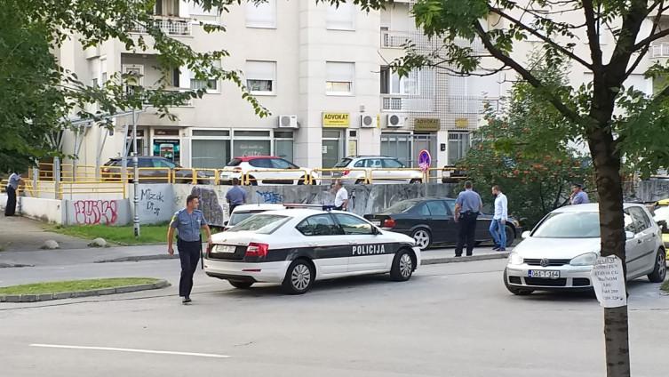 Policija na mjestu incidenta