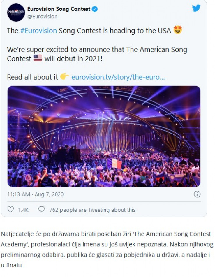 Izvršni producent projekta, Ben Silverman, izjavio je kako voli Eurosong kao format te da ga već dvadeset godina pokušava prenijeti u SAD