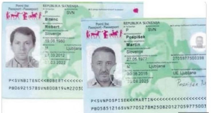 Kožar i Hadžić koristili lažne pasoše