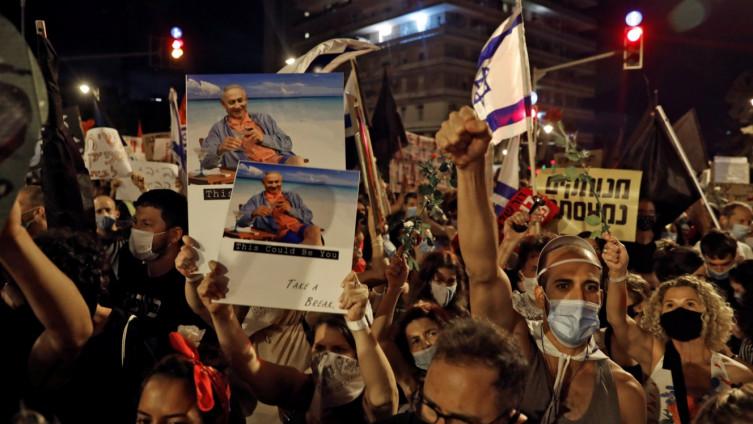 """Njegova stranka Likud nazvala ne demonstracije """"lijevim neredima"""""""