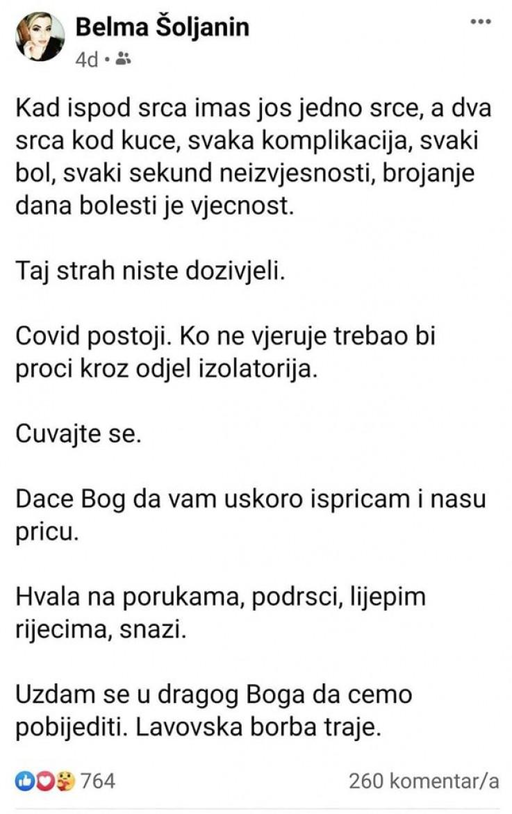 Posljednji status Šoljanin