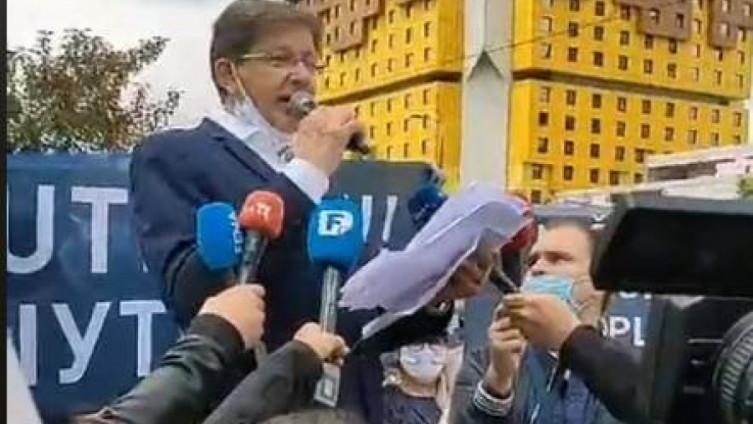 Protest u subotu, 5 do 12 u parku Mladen Stojanović