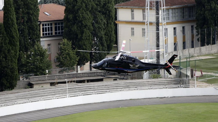 Povod spuštanja helikoptera je hitni medicinski transport