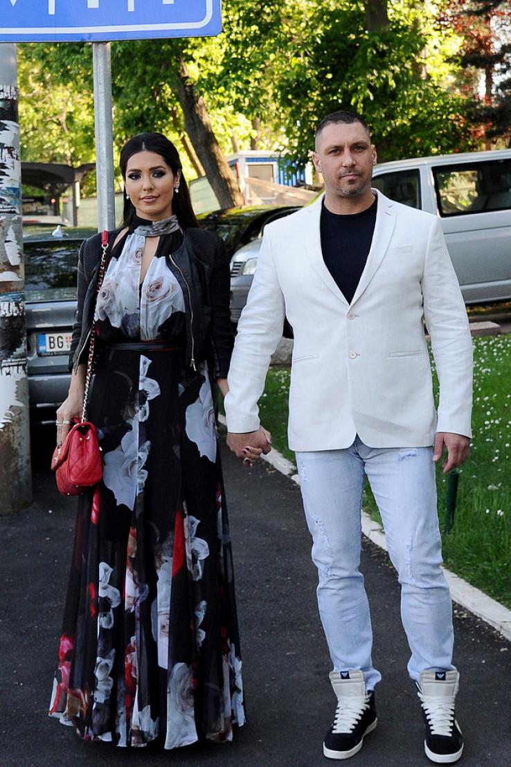 Tanja Savić i Dušan Jovančević