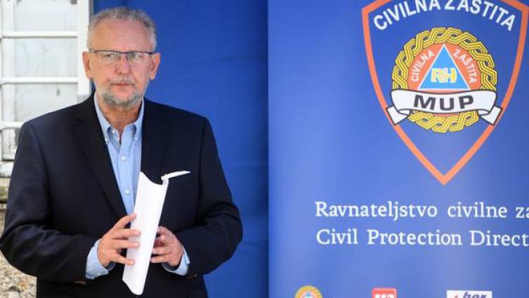 Božinović: Tri županije su u crvenoj zoni