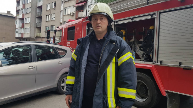 Vatrogasac Edin Hilić: Nisam se pretjerano razmišljao, odmah sam krenuo u njegovo spašavanje