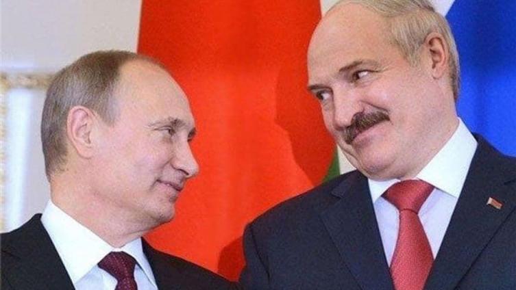 Putin i Lukašenko
