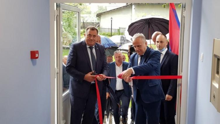 Milorad Dodik i Dušan Panić