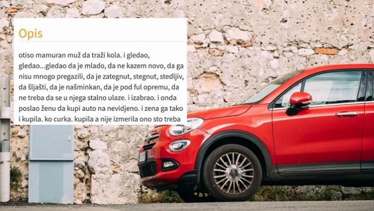 Oglas za automobil