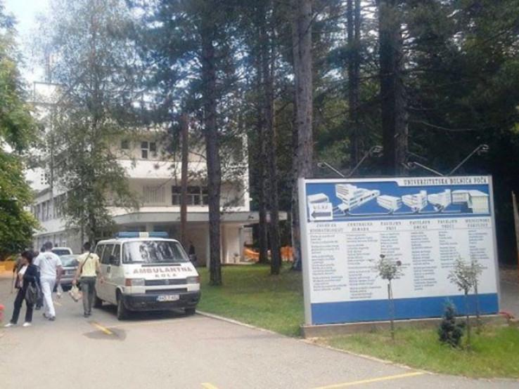 Dvoje osobe zadržane u Kliničkom centru Foča