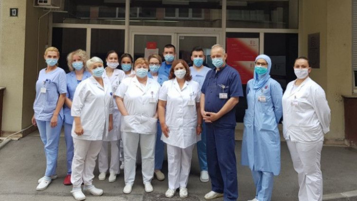 Dio ljekarskog tima Opće bolnice