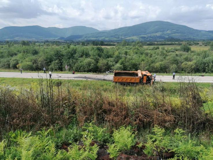 Sa mjesta  nesreće u Mrkonjić-Gradu