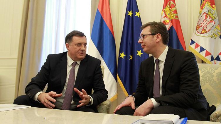 Dodik sljedeće sedmice putuje kod Vučića na razgovor