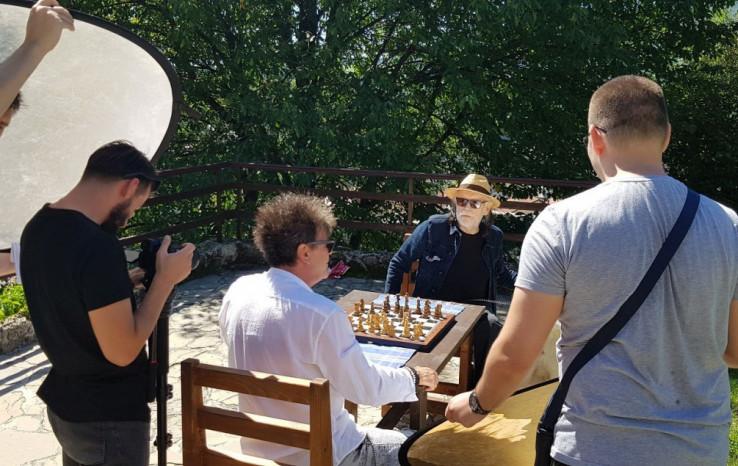 """Pejaović i Žera na snimanju spota za pjesmu """"Tvrđava"""""""