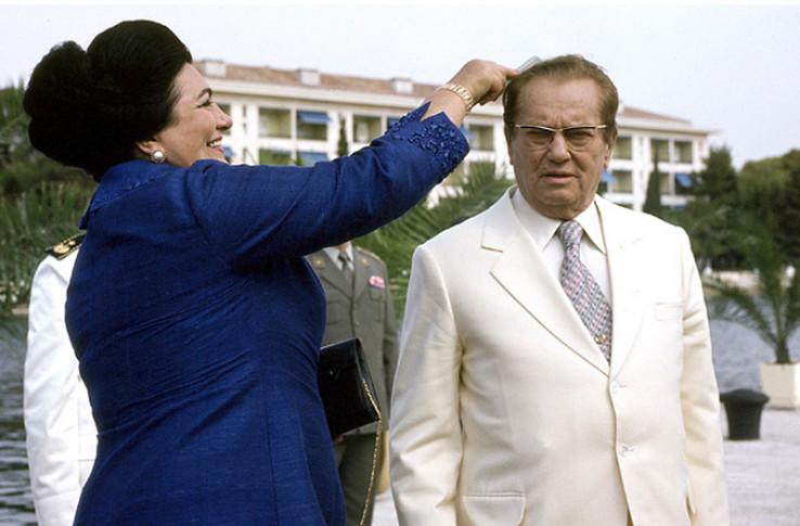 Jovanka i Tito