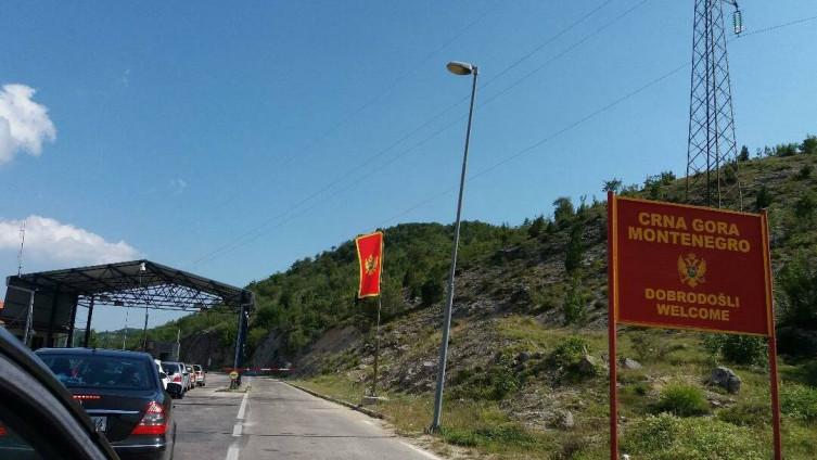Crna Gora, granica