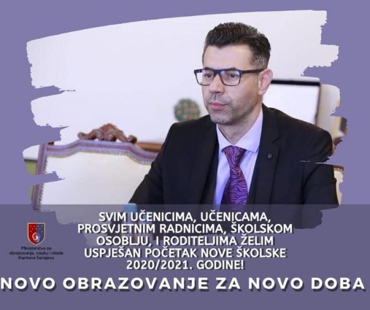 Ministar Krivić poželio sretan početak nastave