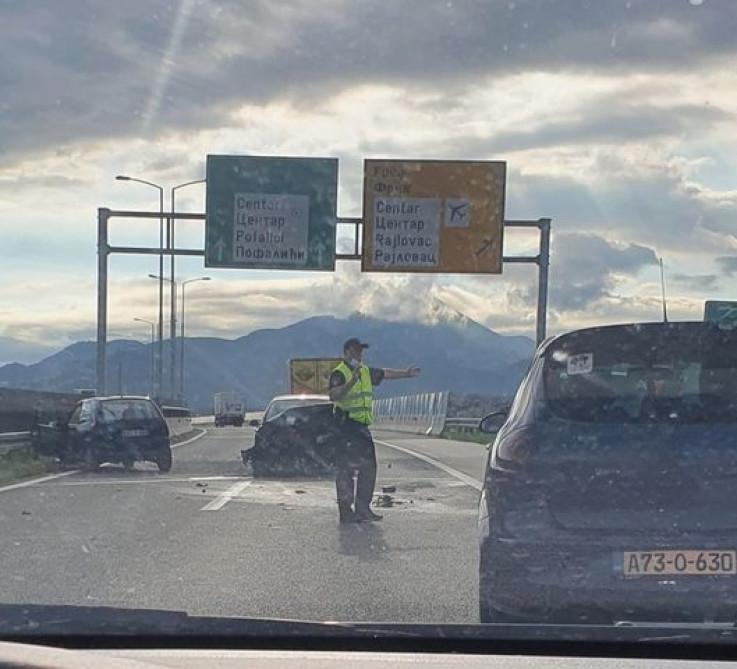 Policija na mjestu nesreće