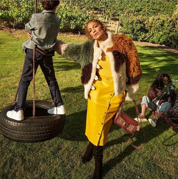 """Lopez i djeca u kampanju za modni brend """"Coach"""""""