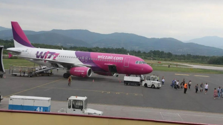 """""""Wizz Air"""" tuzlanski aerodrom"""
