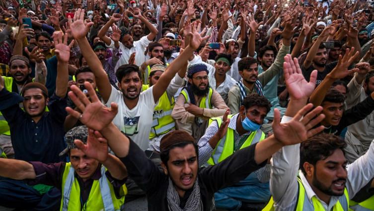 Pakistanci na ulicama