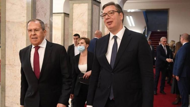 Sergej Lavrov i Aleksandar Vučić