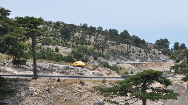 Planinski put prema Sarande