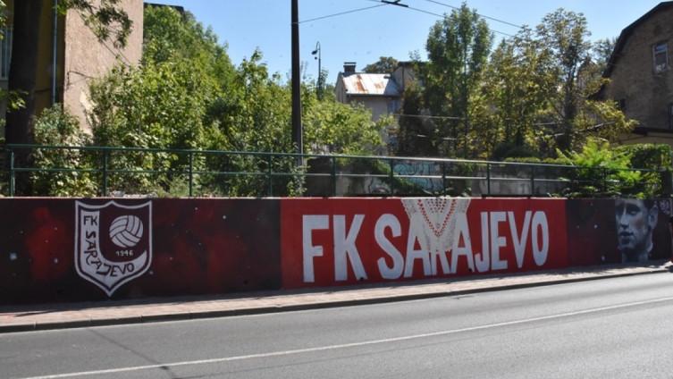 Mural u ulici Patriotske lige