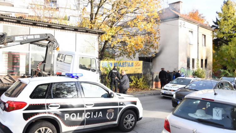 Policija intervenirala u ulici Halida Kajtaza