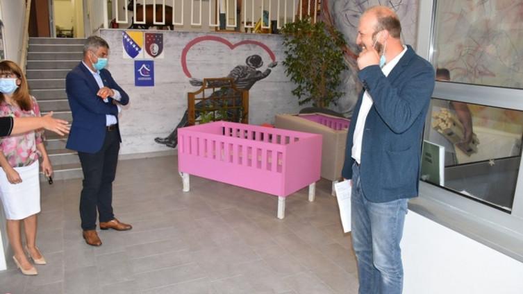 Općina Centar donirala krevete i madrace za štićenike Dječijeg doma na Bjelavama