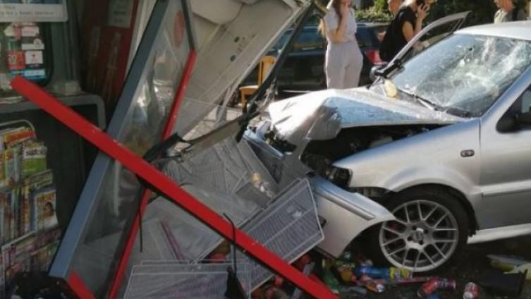 Žena koja je vozila nije povrijeđena