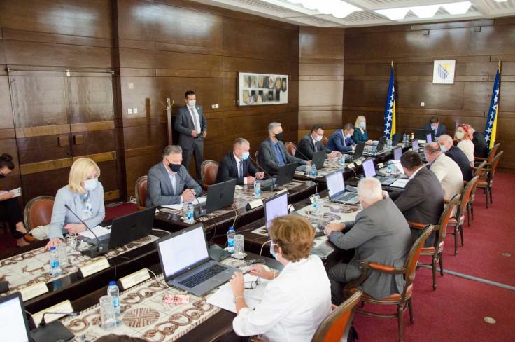 Prijedlog usvojen na sjednici Vlade FBiH 10. septembra