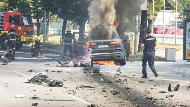 U trenutku eklsplozije nije bilo ni drugih automobila, ni prolaznika u blizini