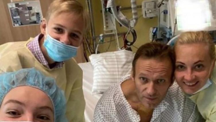 Navaljni u njemačkoj bolnici