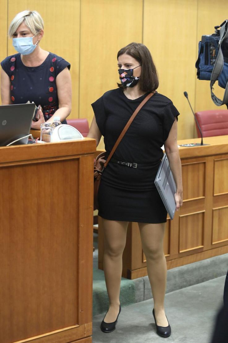 Katarina Peović jučer na sjednici Sabora