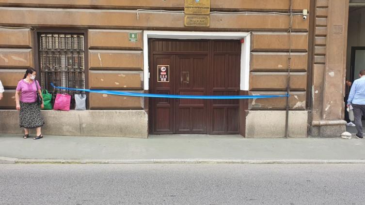 KPZ Sarajevo blokiran zbog uviđaja