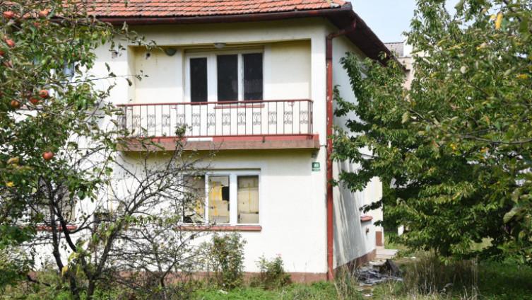 Kuća u kojoj je pronađen migrant