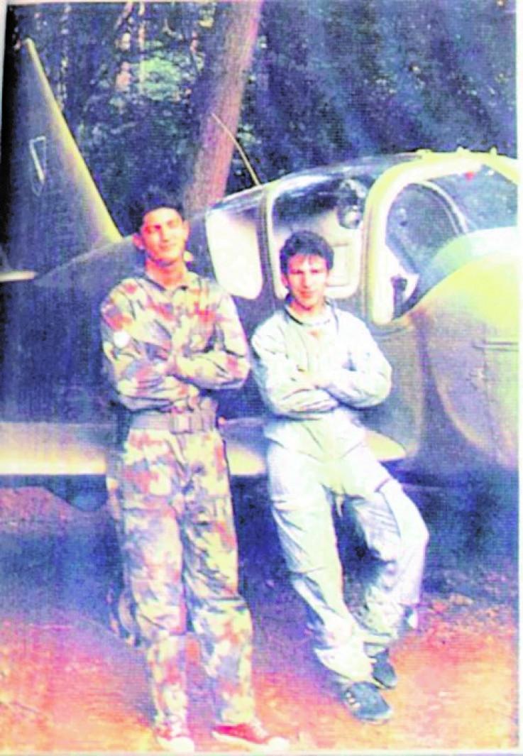 Beganović (desno): Poginuo prije 26 godina kada je oboren ukrajinski avion u rejonu iznad Plitvičkih jezera