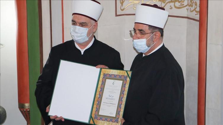 Reis Kavazović s muftijom Abdibegović