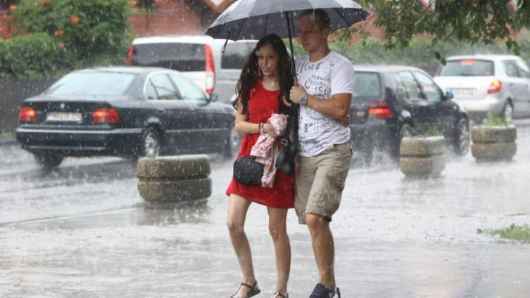 Padavine najavljene u ponedjeljak