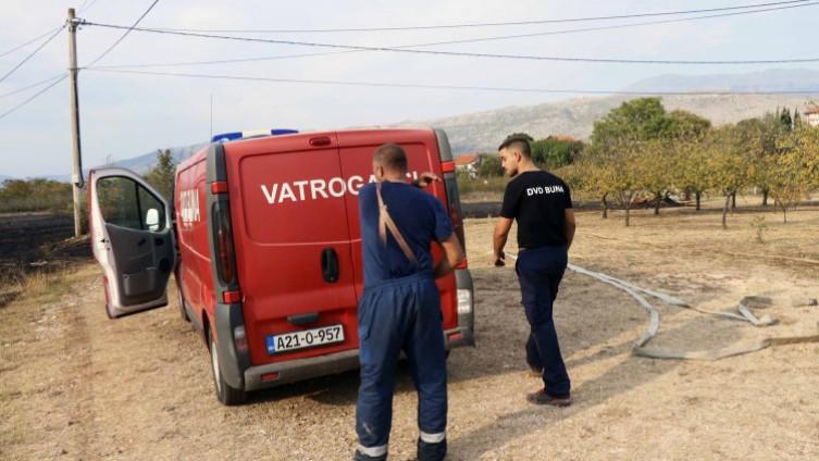 Vatrogasci imali pune ruke posla