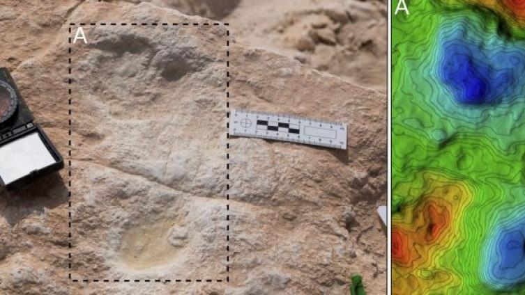 Sedam otisaka stopala pronađena oko drevnog jezera