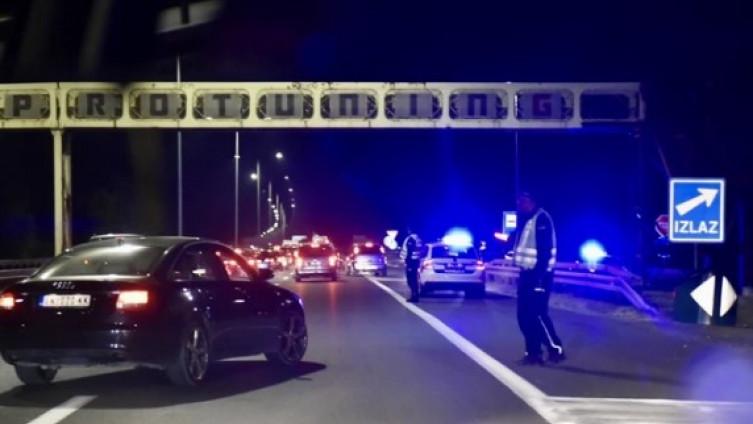 Saobraćajna nesreća se desila prije skretanja ka Aerodromu Nikola Tesla