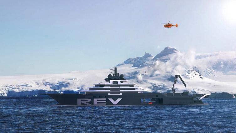 """""""REV Ocean"""" s dužinom od 182,6 metara je najveća superjahta trenutno"""